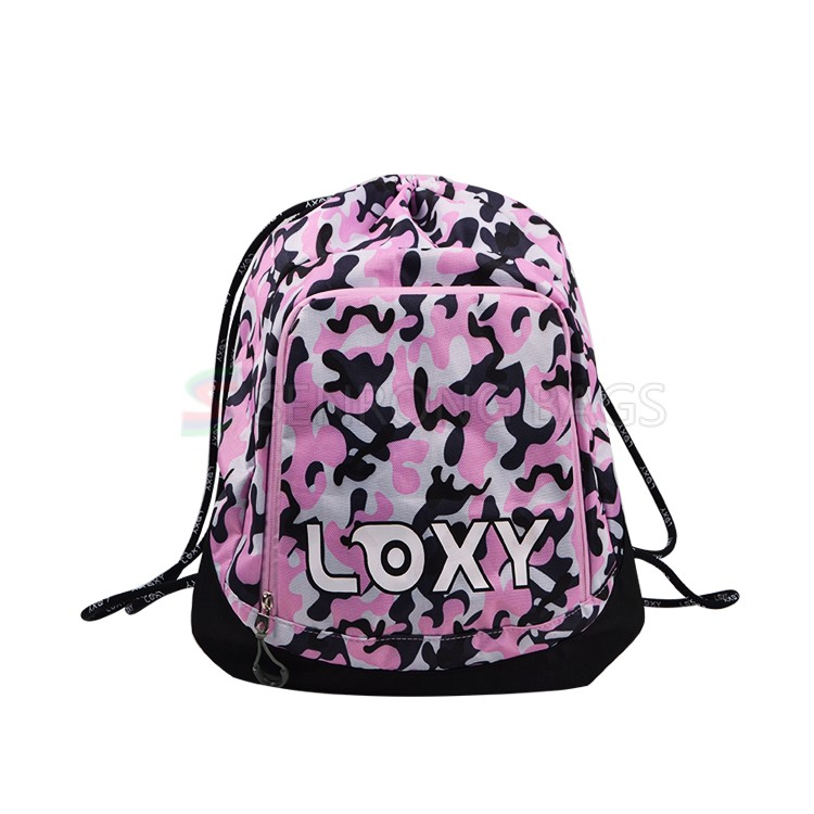 Women Gym Backpack Bag LX015-012P