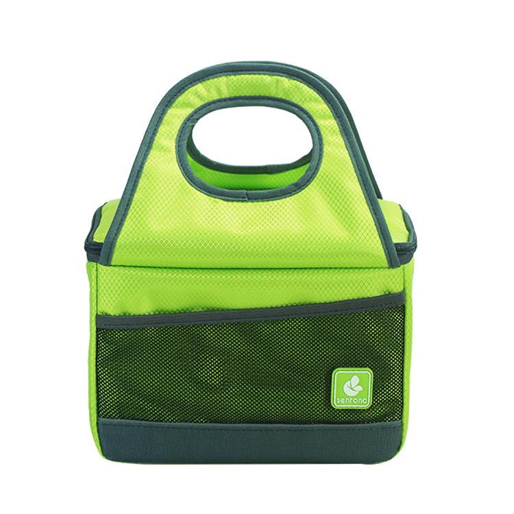 Green cooler lunch bag SC017G