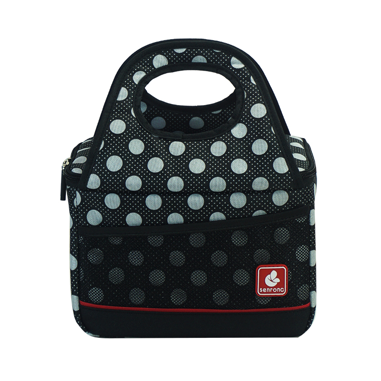 Black Lunch Cooler Bag SC017W
