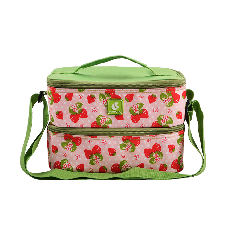 Double Layer Insulated Lunch Bag SC054S