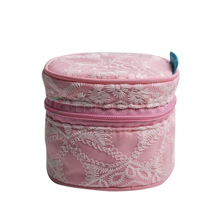 round cosmetic bag for travel SRC16001P