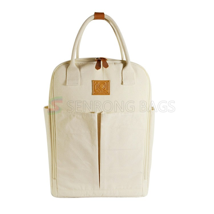 Canvas Lunch Backpack Bag 17SC015
