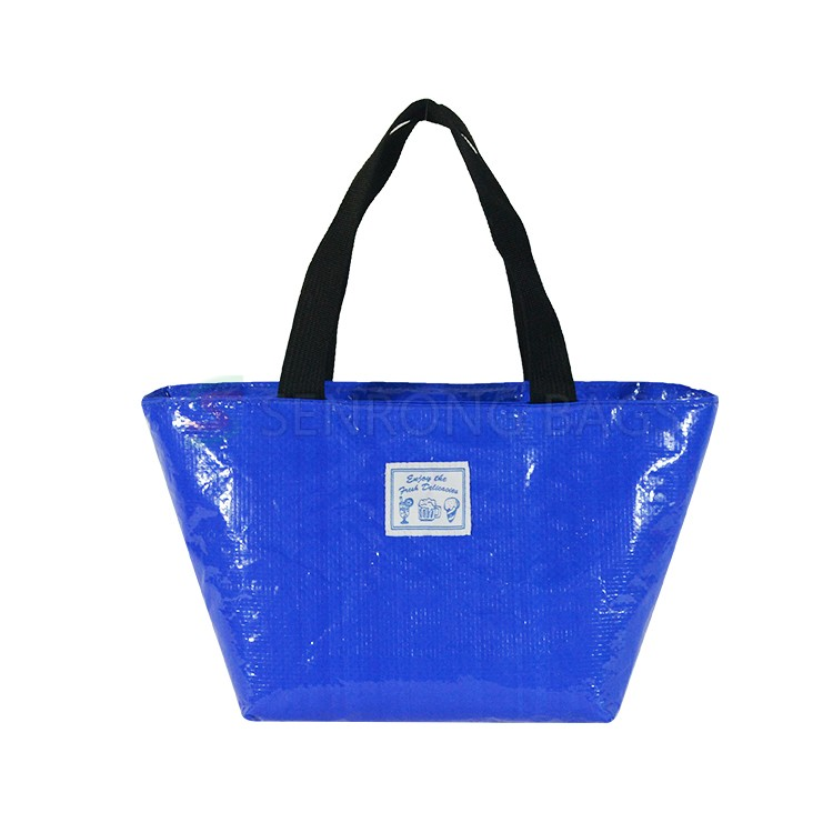 Blue Insulated Lunch Tote 17SC023L