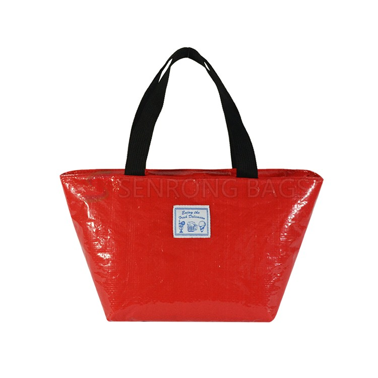 Red Insulated Lunch Tote 17SC023R
