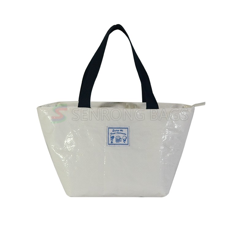 White Insulated Lunch Tote 17SC023W