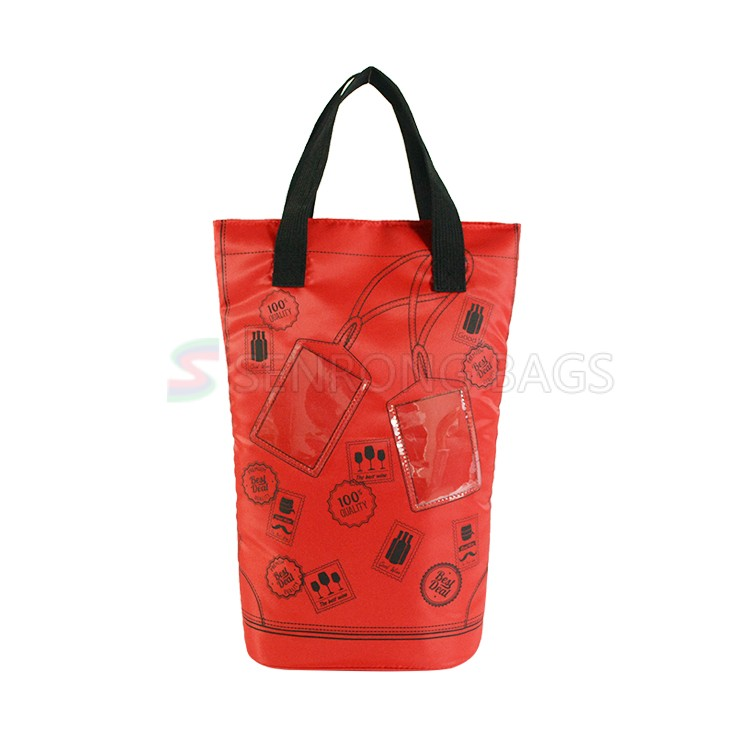 Red Insulated Wine Bag 17SC025R