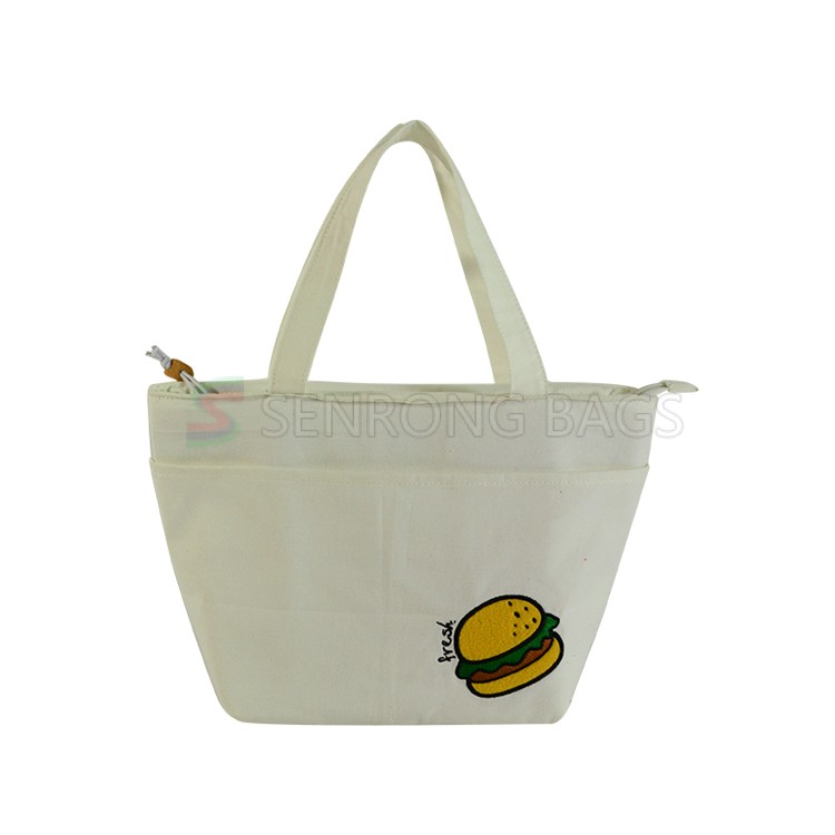 Cotton Insulated Lunch Tote 17SC027W