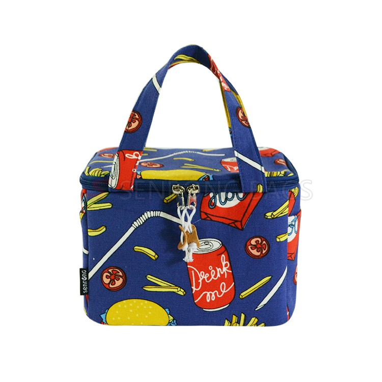 Cotton Insulated Cooler Bag 17SC028B