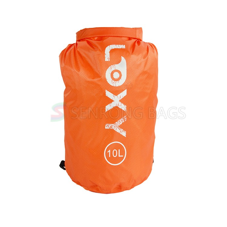 Women Orange Gym Backpack LX17-030Y
