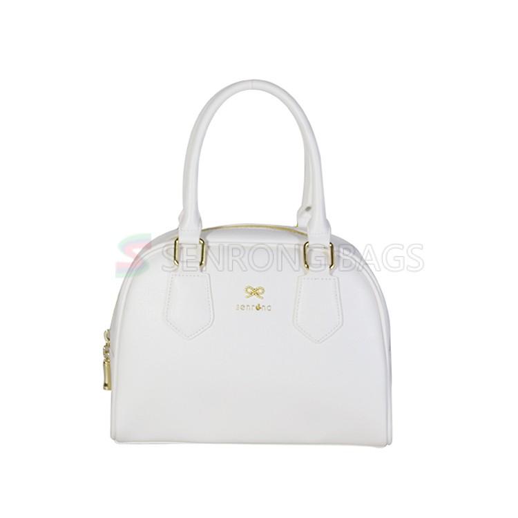 White Cosmetic Tote Bag SRC17-048W