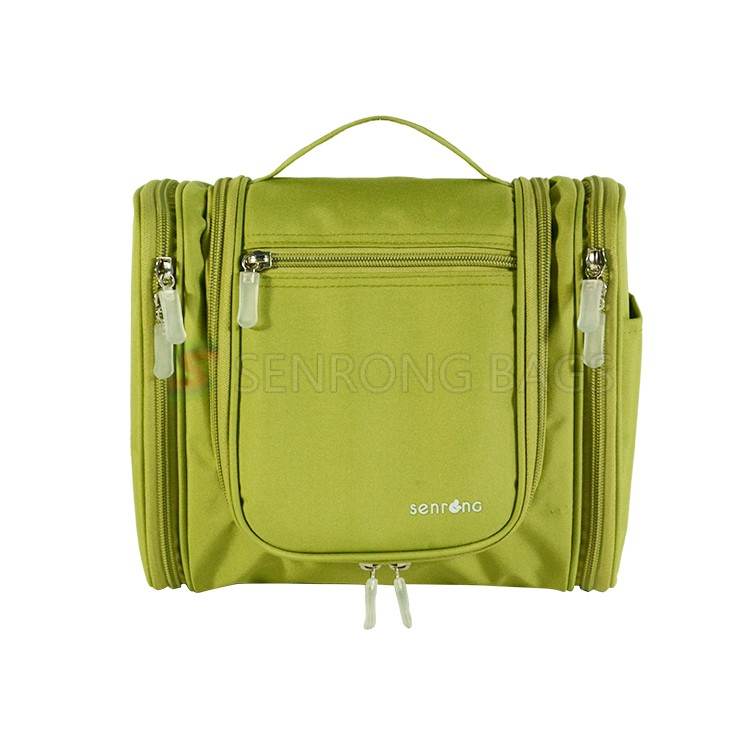 Green Hanging Toiletry Bag ST17-038G