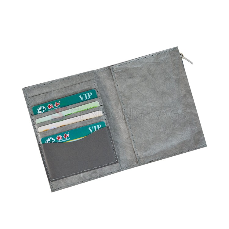 Grey Tyvek Small Purse SRN17-003H