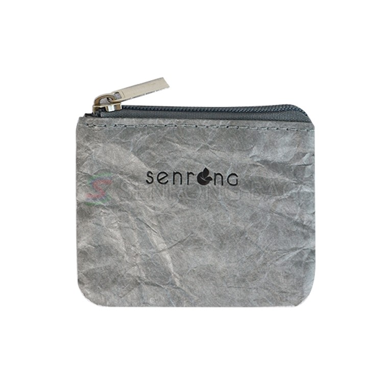 Grey Tyvek Small Pouch SRN17-007H