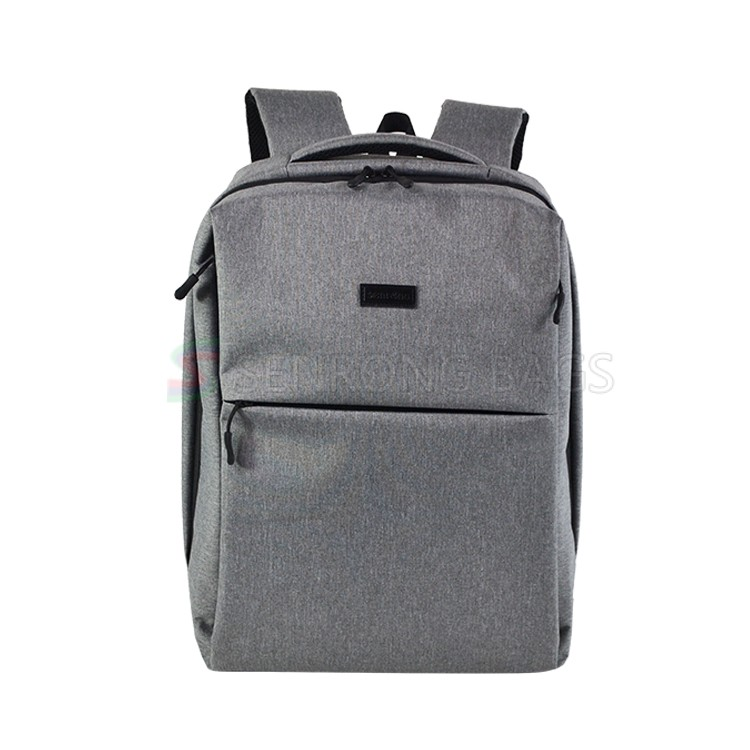 2018 Grey Laptop Backpack SYN17-050H