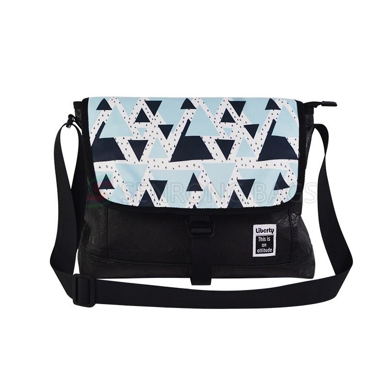 Tyvek Fashion Messenger Bag SRN18-062B