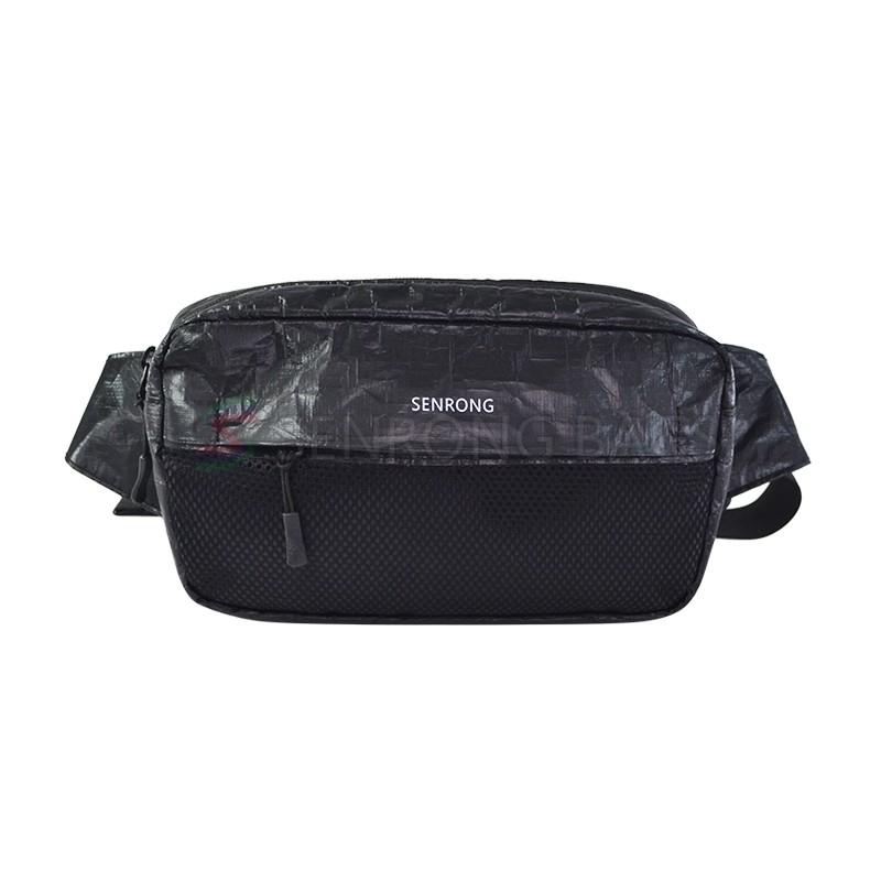 Tyvek Black Waist Bag SRN18-035B