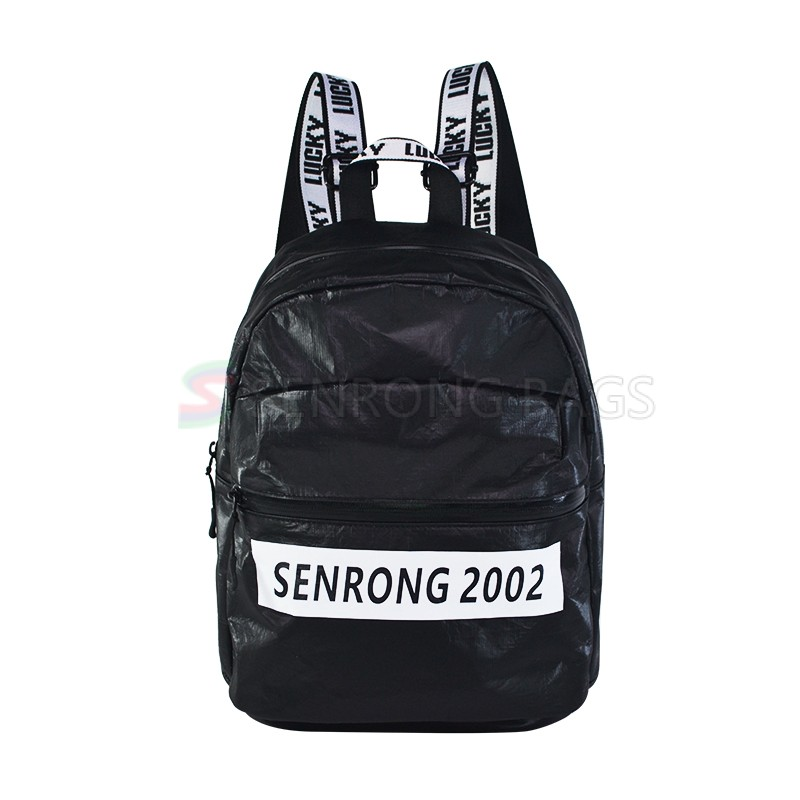 Tyvek Black Sport Backpack SRN18-039B