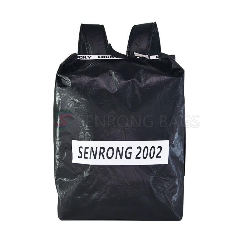 Tyvek Black Travel Backpack SRN18-041B