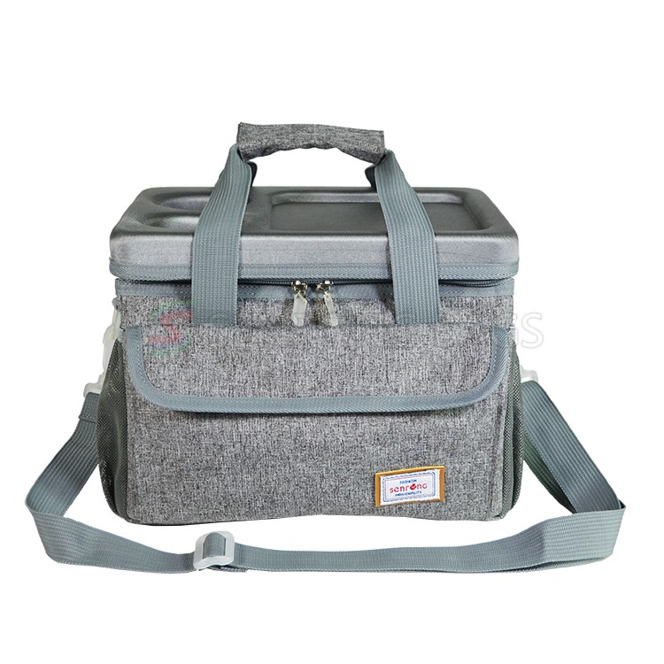 Portable Water Cooler Insulated Bag Custom Termos Double Wall Can Food Delivery Tote Bag for Food Carrier SC17M-050B
