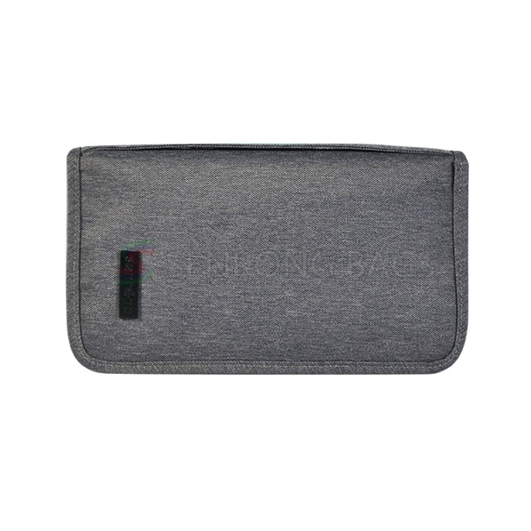 Grey Mens Card Wallet SC17M-126