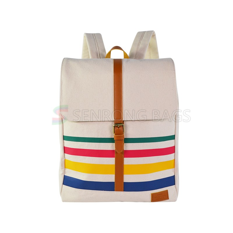 Fashion Canvas Travel Backpack SRF18-005