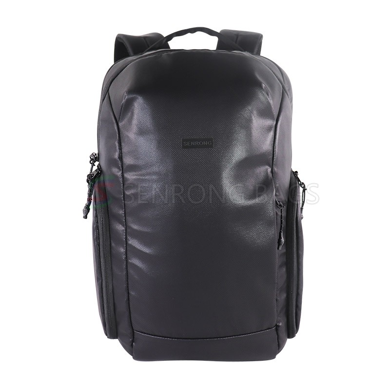 Ad  LOW MOQ OEM waterproof bag PU outdoor travel bag customized backpack waterproof