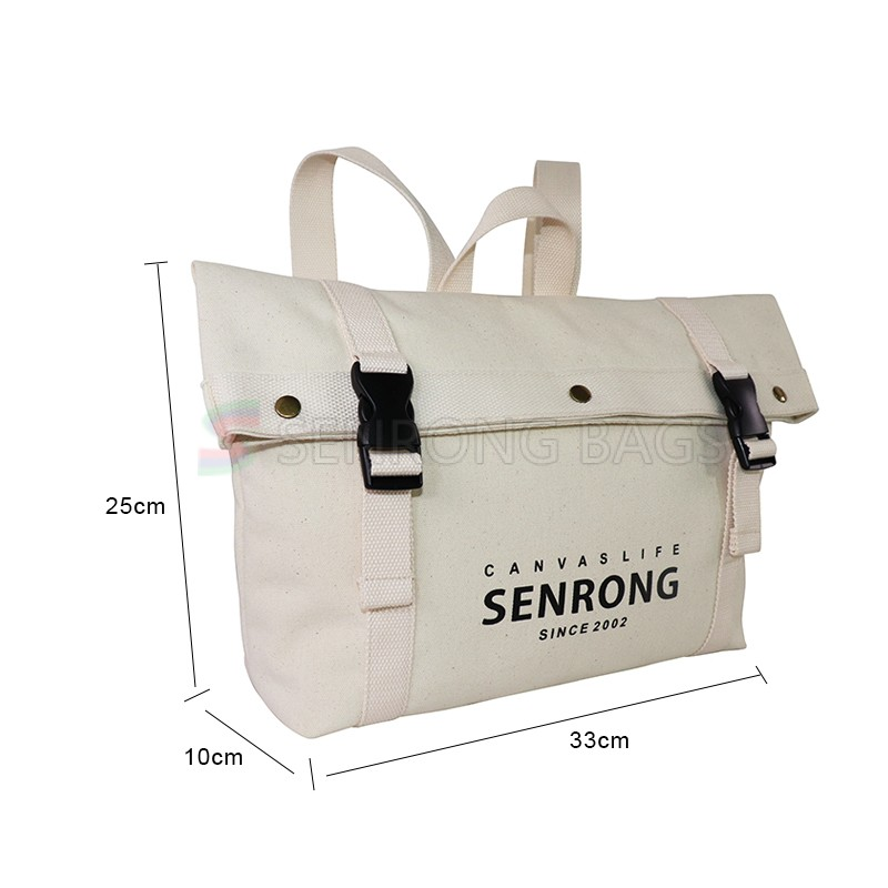 Handmade OEM Factory Natural Canvas Bag Customized Printed Peacock Reusable Grocery Shopping Bags