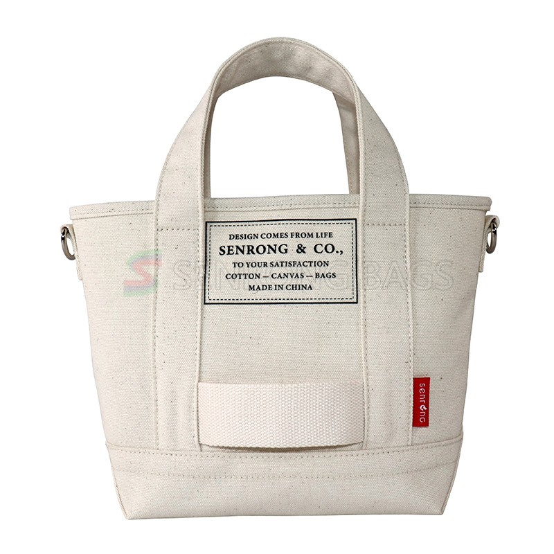 1CT0125 Custom Personality Casual Large Capacity Tote Bag Foldable Canvas Shopping Bag