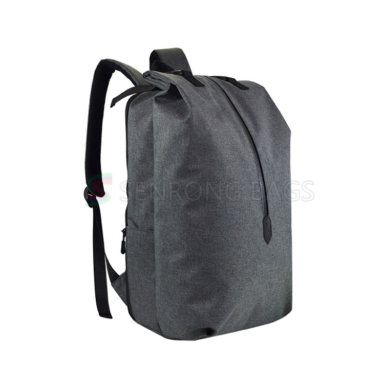 2019 new design roll top closure Waterproof Cationic cloth with TPU outdoor backpack