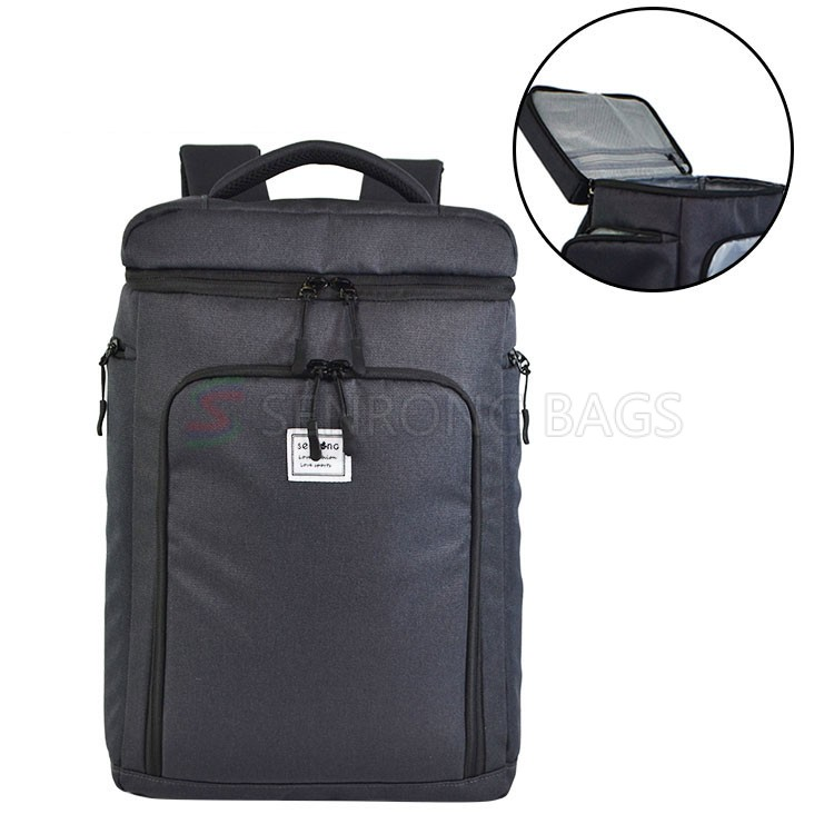 Leakage-proof soft cooler for lunch with shoulder blade insulated refrigeration bag