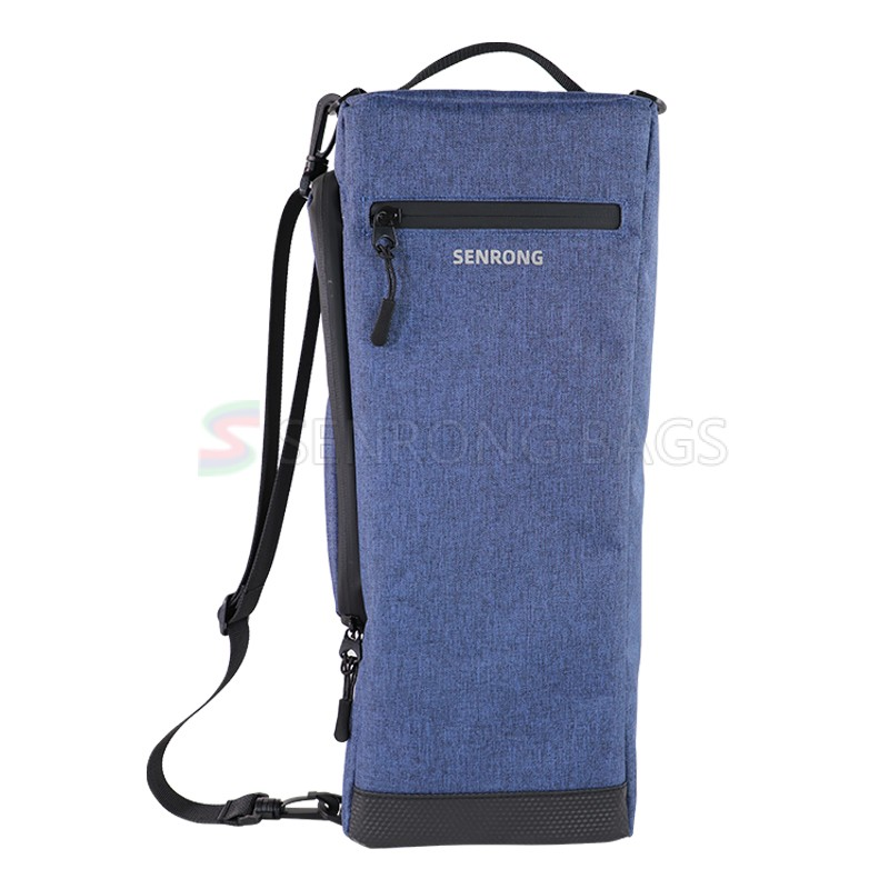 Wine Cooler Carrying Tote Bag Insulated Bottle Cool Bag with Strap Bottle Drinks Bag for Travel