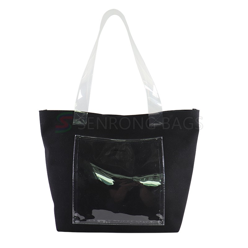 Standard size wholesale lamination woven Shopping Bag Grocery Tote Bag Canvas bag