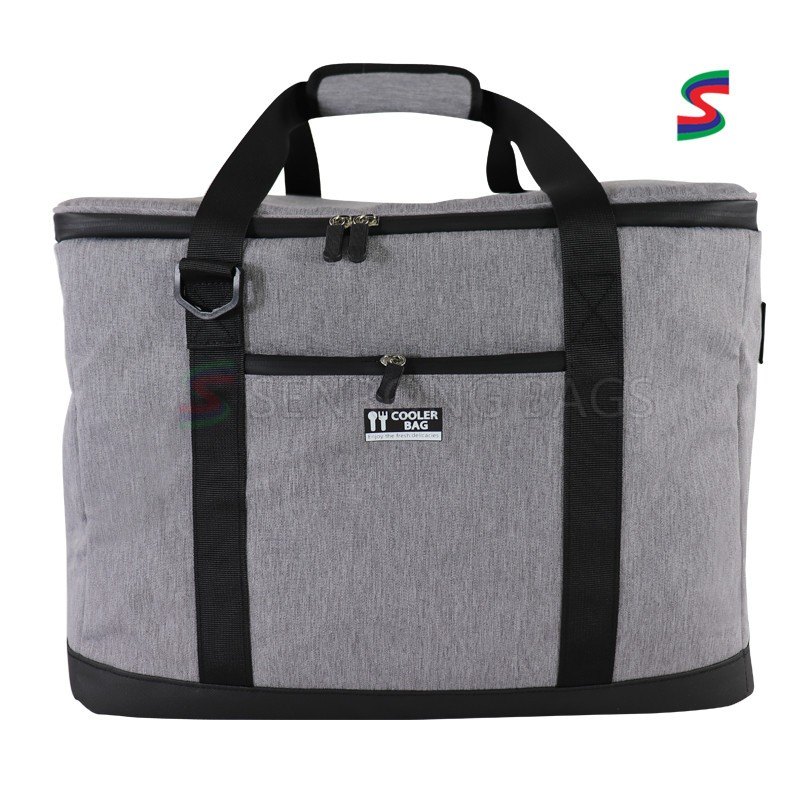 Bulk Thermal Insulation Bag portable Waterproof Oxford Cloth large Takeout Delivery Box lunch cooler bag with shoulder strap