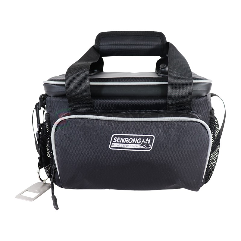 Portable Adjustable Shoulder Strap Office Work Picnic Hiking Beach Lunch Box Organizer Cooler bag