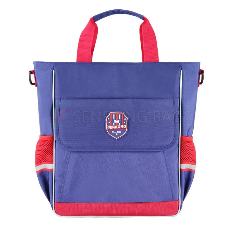 Fashion Portable school Handbag Messenger Bag Student Tutorial Bag Children Schoolbag