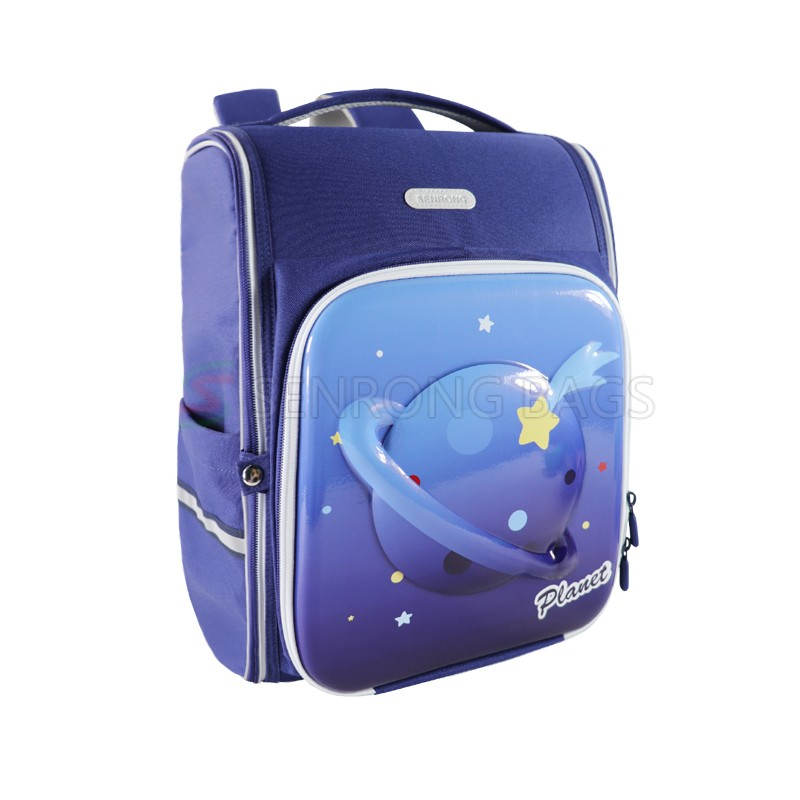 2021 Foldable Kids Boys Planet Stationery Bookbag Book Bag School Bag Backpack