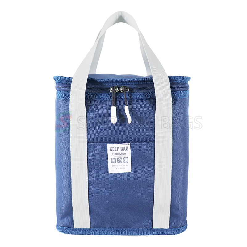 2021 BLUE custom thermal insulated foam soft lunch cooler bags for food